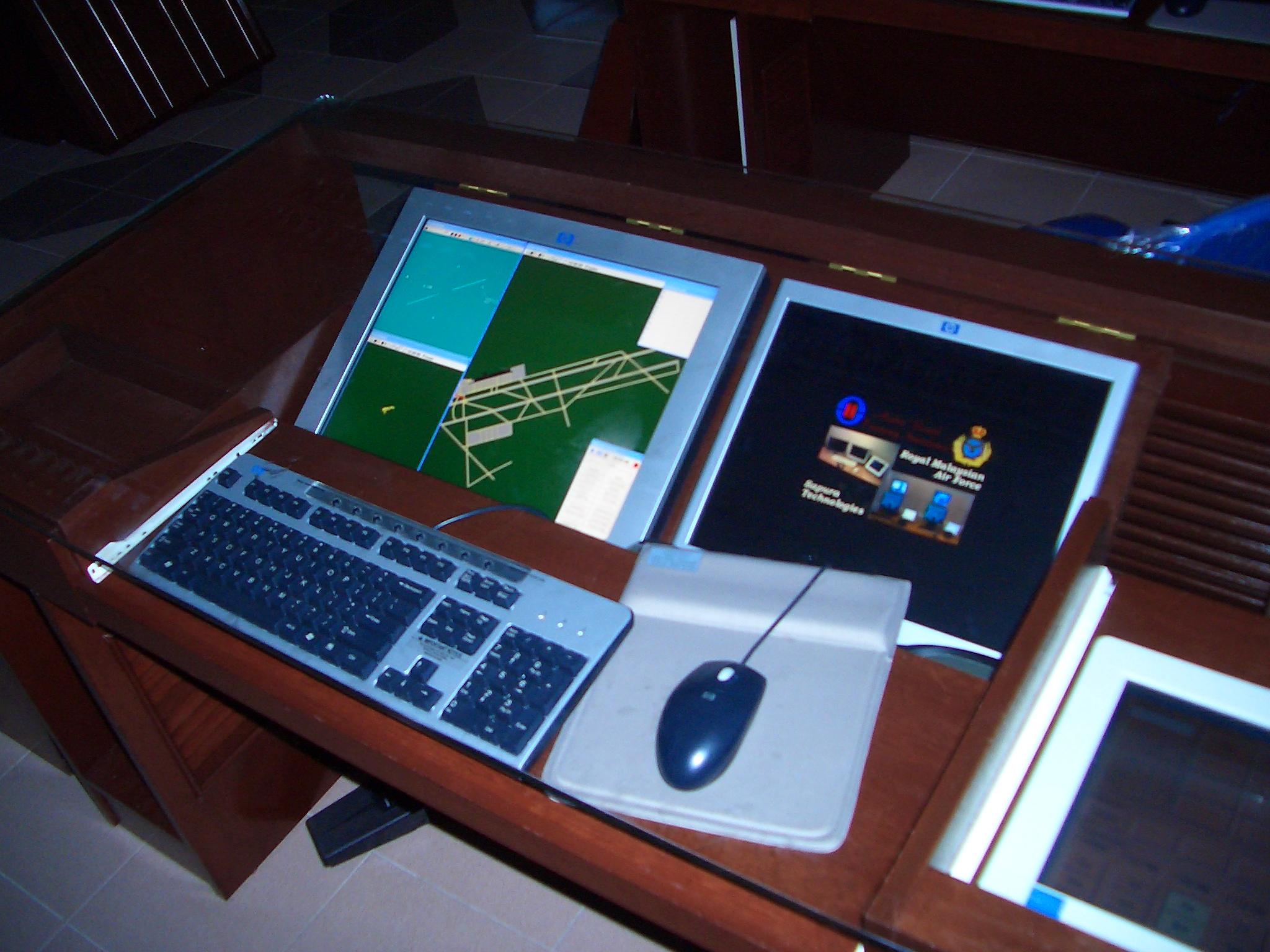 RMAF Malaysia BEST Radar simulator