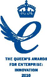 Winner of the Queen's Award for Enterprise: Innovation 2016