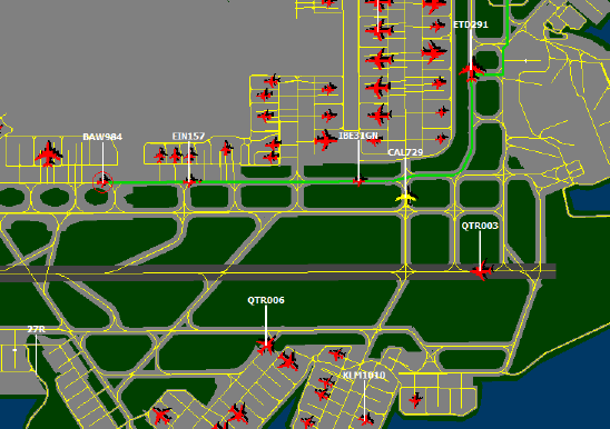 GMR Ground Map Routing