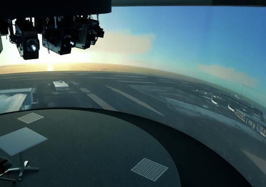 360 degree tower simulator