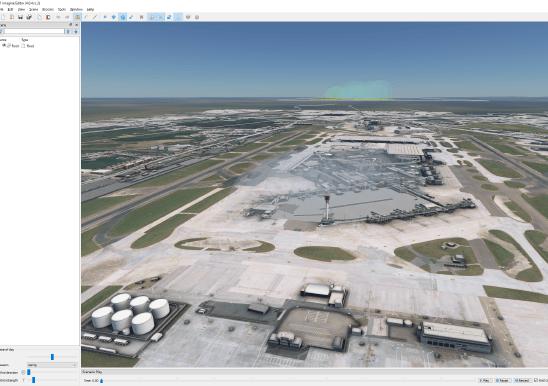 3D Airfield Scene Editor