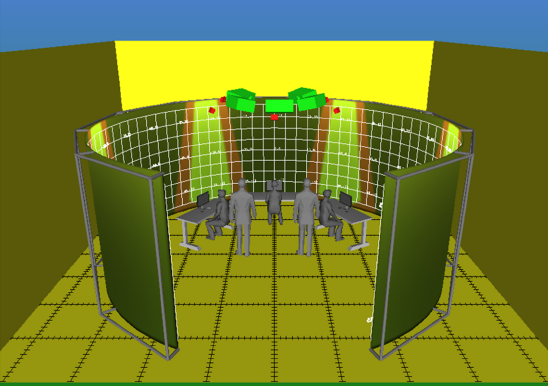 Tower Display Systems Illustration