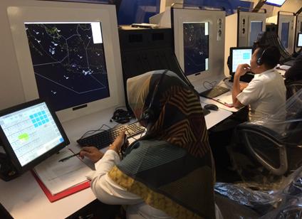 BEST ATC simulator at AirNav Indonesia in Jakarta